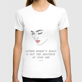 Another Woman's Beauty T-shirt