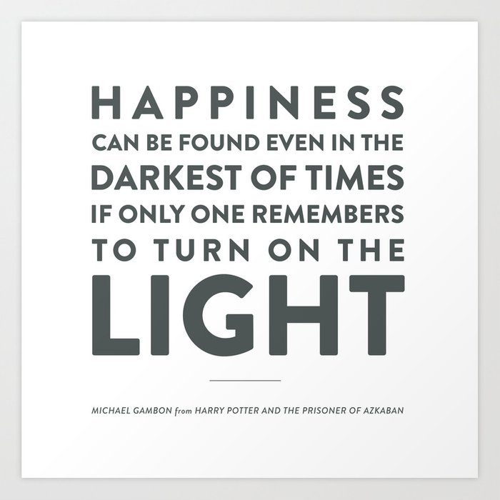 Light - Quotable Series Art Print