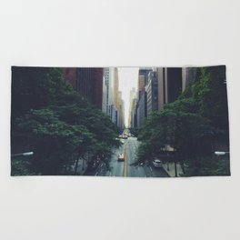 Morning in the Empire Beach Towel