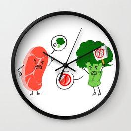 Food War Wall Clock
