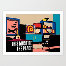 Talking Heads - This Must Be The Place Art Print
