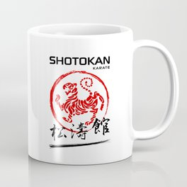 Shotokan Karate Tiger Coffee Mug