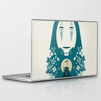 spirited away Laptop & iPad Skins featuring Spirited by Duke Dastardly