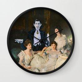 Dracula and the Wyndham Brides Wall Clock