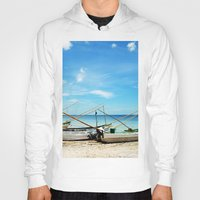 boats Hoodies featuring boats by Baptiste Riethmann