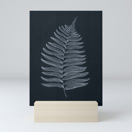 New Zealand Tree Fern Leaf Mini Art Print