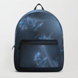 Fractal 29 blue star Backpack