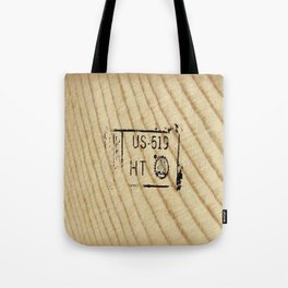 Lumber Stamp Tote Bag