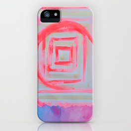 Blue Pink iPhone Case