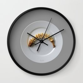 Banana Fishbone Wall Clock