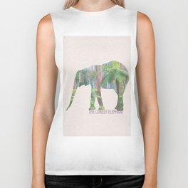 The Lonely Elephant Biker Tank