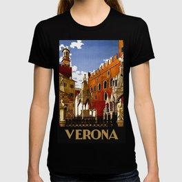 Vintage Verona Italy Travel T-shirt