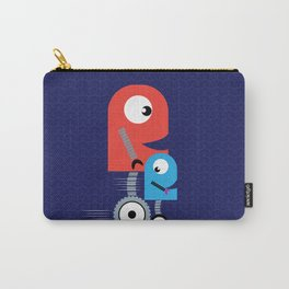 Funky Little Robots Carry-All Pouch