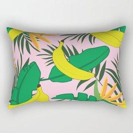 Tropical bananas Rectangular Pillow