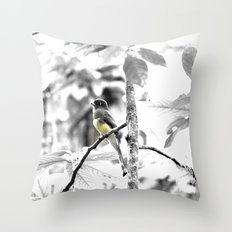 Yellow-Bellied Throw Pillow