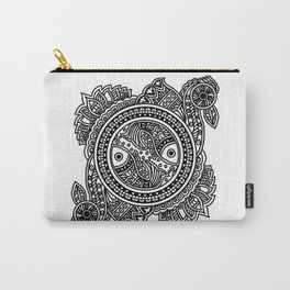 Design inspired from Mithila Painting Carry-All Pouch