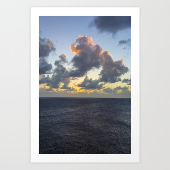 Atlantic Sunset Art Print