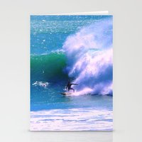 surfer Stationery Cards featuring Surfer by suzyoconnor
