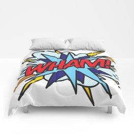 Comic Book Pop Art WHAM Comforters