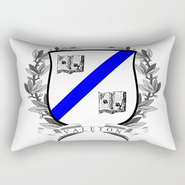 Valeton University Crest Rectangular Pillow