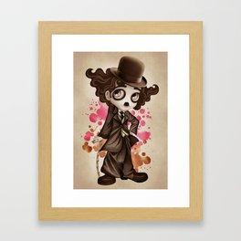 The Little Tramp Framed Art Print