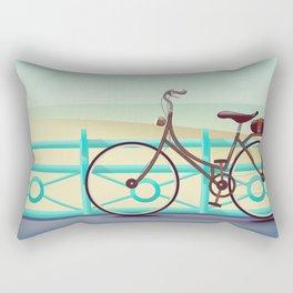 It's Quicker By Bike Rectangular Pillow