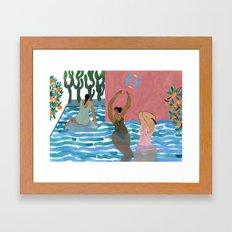 Marysia Swim Framed Art Print