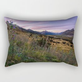 Mount Cook Nightfall Rectangular Pillow