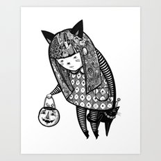 Little Trick Art Print