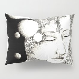 Troubled and peaceful sleep Pillow Sham
