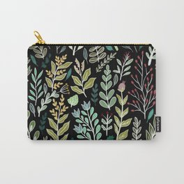 Dark Botanic Carry-All Pouch
