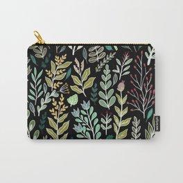 Dark Botanic Carry-All Pouch