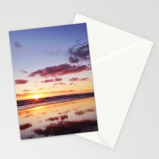 Sunset in Newport Beach Stationery Cards