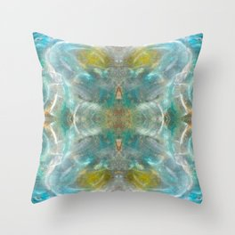 Divine Approach Throw Pillow