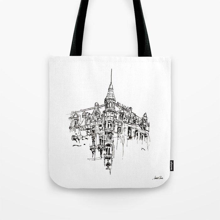 Urban Inkscape 11 Amsterdam Tote Bag