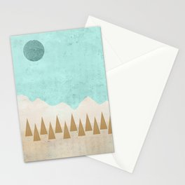 Winter's Morn Stationery Cards