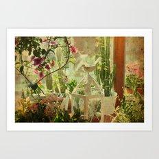 Lil' Garden Art Print