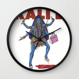 Kali B Wall Clock