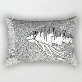 Kraken Shrimp Rectangular Pillow