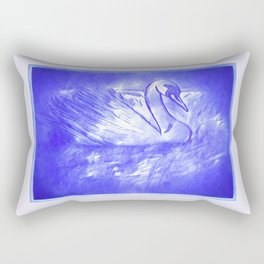 The Song of The Swan Rectangular Pillow