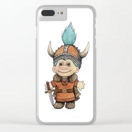 Vikingtroll Clear iPhone Case