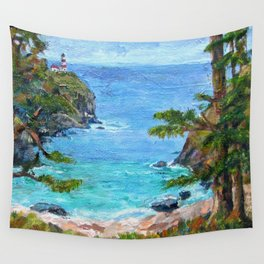 Cape Disappointment Wall Tapestry
