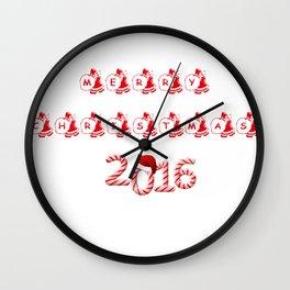 takiyaChristmas9 Wall Clock