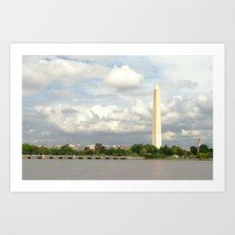 On The Potomac Art Print