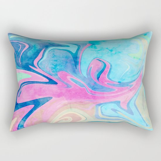 Candies & Sea #society6 #decor #buyart Rectangular Pillow