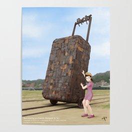 Takao Railway Museum Poster