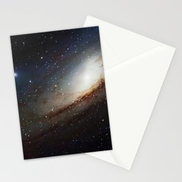 The Andromeda Galaxy, spiral galaxy in the constellation of Andromeda Messier 31 M31 Stationery Cards