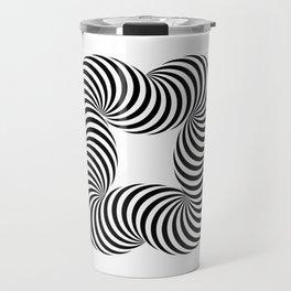 Optical illusive infinity Travel Mug