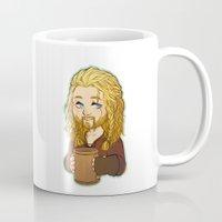 fili Mugs featuring Fili by angryorangecat