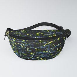 Pond - yellow flowers Fanny Pack
